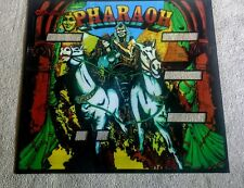 Williams Pharaoh Pinball Machine Translite Looks Just Like Backglass