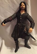 "Lord of the Rings Aragorn 11"" Deluxe Poseable Action Figure - Return of the King"