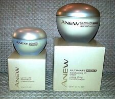 Avon ANEW Ultimate Night Transforming Lift Cream 1.7 oz + Lift Eye Cream .5 floz