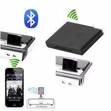 Bluetooth Musik Audio 30 Pin Dock Empfänger Adapter für iPod iPhone