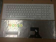 New Laptop Keyboard for Sony Vaio EJ VPC-EJ  VPC-EJ3T1E White Frame White US