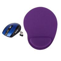 Magideal Wireless Adjustable DPI Optical Mouse+ Comfort Soft Rest Wrist Mat