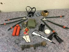 Lot Of Assorted Vintage GI Joe Accessories Plus Some Unknown
