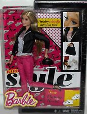 BARBIE DOLL STYLE COLLECTION FASHION BOOK CLOTHES NOT IN STORES