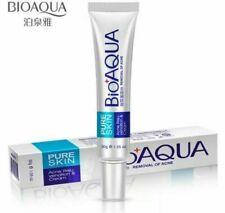 BioAqua Pure Skin Anti Acne Cream Scar Blemish Stretch Mark Removal Gel Face UK