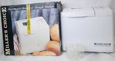 MILLERS CHOICE AUTOMATIC BREAD AND DOUGH JAM MAKER WHITE BOXED GIFT NEW OTHER