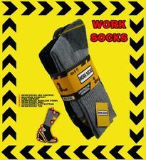 Mens Work Socks One Size UK 6-11 3 Pairs Style 40b184 Black