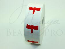 Roll of 1000 DRAGONFLY Tanning Sticker Scrapbooking SpraytanTanning Bed Tattoo
