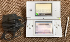 *Nintendo DS Lite* White Handheld Console with Stylus & Original Charger*