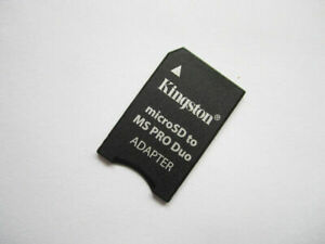 10pcs Kingston TF MicroSD to MS Memory Stick Pro Duo Adapters for Sony PSP