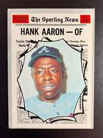 1970 Topps #462 HANK AARON National League All-Star NICE CENTERING GREAT SHAPE!