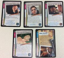 X-Files CCG 101361 Complete Ultra Rare Card Set - 5 UR Cards