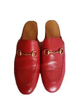 AUTHENTIC GUCCI PRINCENTOWN RED 39