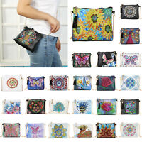 DIY Special Shape Diamond Painting Crossbody Handbag Purse Bag Shoulder Bag Gift