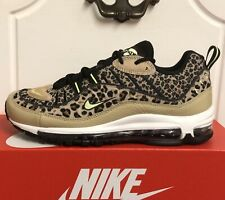 NIKE AIR MAX 98 PRM TRAINERS SHOES WOMENS UK 5,5  EUR 39 US 8 LEOPARD PRINT