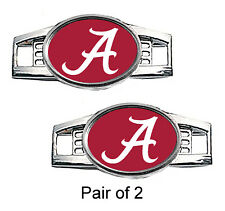 University of Alabama Shoe Charms / Paracord Charms