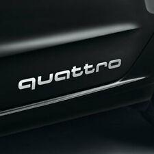 AUTOCOLLANTS STICKERS AUDI QUATTRO ORIGINAUX A3 A4 A5 A6 A7 A8 S3 S4 S5 S6 36CM