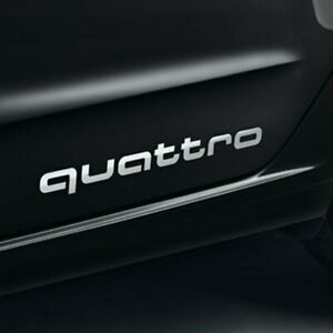 Stickers audi Quattro Originals A3 A4 A5 A6 A7 A8 S3 S4 S5 S6