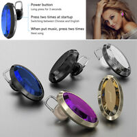 Bling Mini Bluetooth Wireless Headset Earphone For Samsung S10 S9 iPhone LG V40