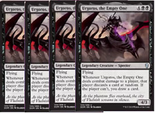 Urgoros, the Empty One X4 -NM- Dominaria MTG Black Uncommon