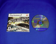SONY PLAYSTATION PS2 PROMO FULL GAME * NEED FOR SPEED MOST WANTED * DISC IS MINT