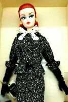 Breathtaking 2017 Black and White Tweed Suit Silkstone Barbie Doll Nrfb~ONLY 1 !