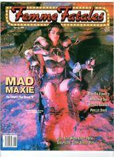 WoW! Femme Fatales V2#4 Cover A /  Melanie Shatner! Debbie Rochon!  Temptress!