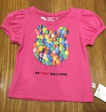 BNWT FRED BARE Logo Baby Girls T-shirt Sz 0 Top ~ $44.95 Cute New