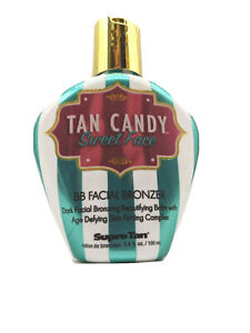 Supre Tan Candy Sweet Face BB Facial Bronzer Indoor Tanning Bed Lotion 3.4 oz