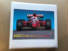 1994 & 1995 FUTERA FORMULA 1 CARD SET + FOLDER + INSERTS + PROMO