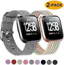 2 Pack Bands Compatible with Fitbit Versa Fitbit Versa 2 Fitbit Versa Lite
