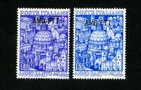Trieste Stamps # 74-5 VF OG LH