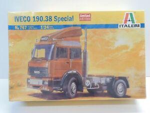 1/24 Scale Italeri IVECO 190.38 Special Truck Vehicle Kit #767 NIB SEALED HTF