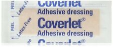 """BSN Jobst Coverlet Fabric Adhesive Bandage Strip 1"""" x 3"""", 100 Strips/pieces"""
