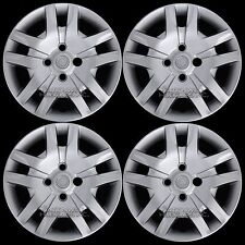 "4 for 2007-2012 Nissan Sentra Bolt On 16"" Wheel Covers Hub Caps Full Rim Skins"