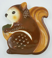 Better Homes and Gardens Squirrel Plate Serving Dish Fall Autumn Woodland Decor