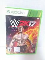 WWE 2K17 (Microsoft Xbox 360, 2016)  CIB Tested Fast Shipping