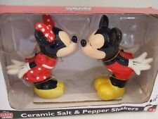 Mickey Mouse & Minnie Mouse Salt & Pepper Shakers, Ceramic