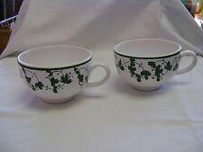 Two Coelho & Coelho Vine Handled Cups Sold At Peet's Coffee and Tea Cafe Shop