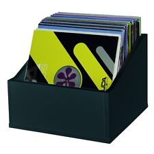 Glorious Record Box Advanced 110 LP Vinyl Record Storage Black DJ Deck Studio