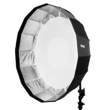 Selens 85cm Sliver Foldable Beauty Dish Softbox Studio Bowens Flash Photography