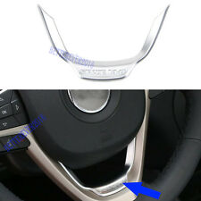 ABS Matte Steering Wheel Cover Trim For Jeep Cherokee 2014-2019 Grand Cherokee