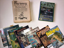 Lot of 45 Outdoor Magazines - Badger Sportsman, Sports Afield Special, etc.