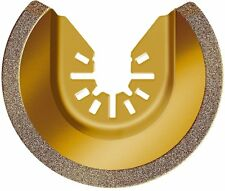 "RW8946 Rockwell Sonicrafter 3-1/8"" Universal Carbide Grit Semicircle Blade"