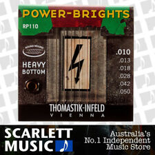 Thomastik-Infeld Power-Brights RP-110 Electric Guitar Strings 10-50 Heavy Bottom