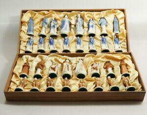 Sitzendorf Schachfiguren Porzellan