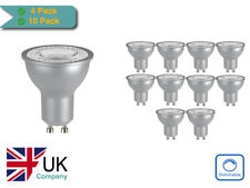 PACK OF 4/10 VENTURE LED 5W DIMMABLE GU10 WARM WHITE/COOL WHITE