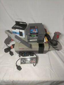 Nintendo NES Console System Mario + Classic Sports Bundle