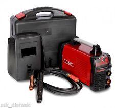 Soldador Inverter MetalWorks TEC200 , amperímetro digital , incluye maletín.