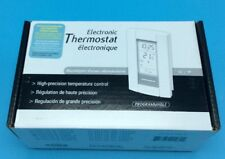 New Honeywell Aube TH115-A-240D-B Programmable Electronic Thermostat 240V 15A